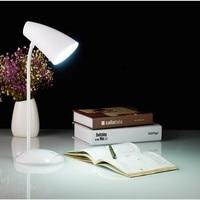 LED lade wiederaufladbare schreibtisch lampe USB Dimmen lichter schlafzimmer student schlafsaal lesen licht Innen beleuchtung-in Schreibtischlampen aus Licht & Beleuchtung bei
