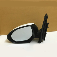 3 Pins Electric Mirror Glass With White Cover L/RH Side Mirror For Mazda 2 2007 2014