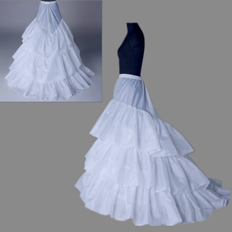 Online buy wholesale tulle underskirt from china tulle for Tulle petticoat for wedding dress