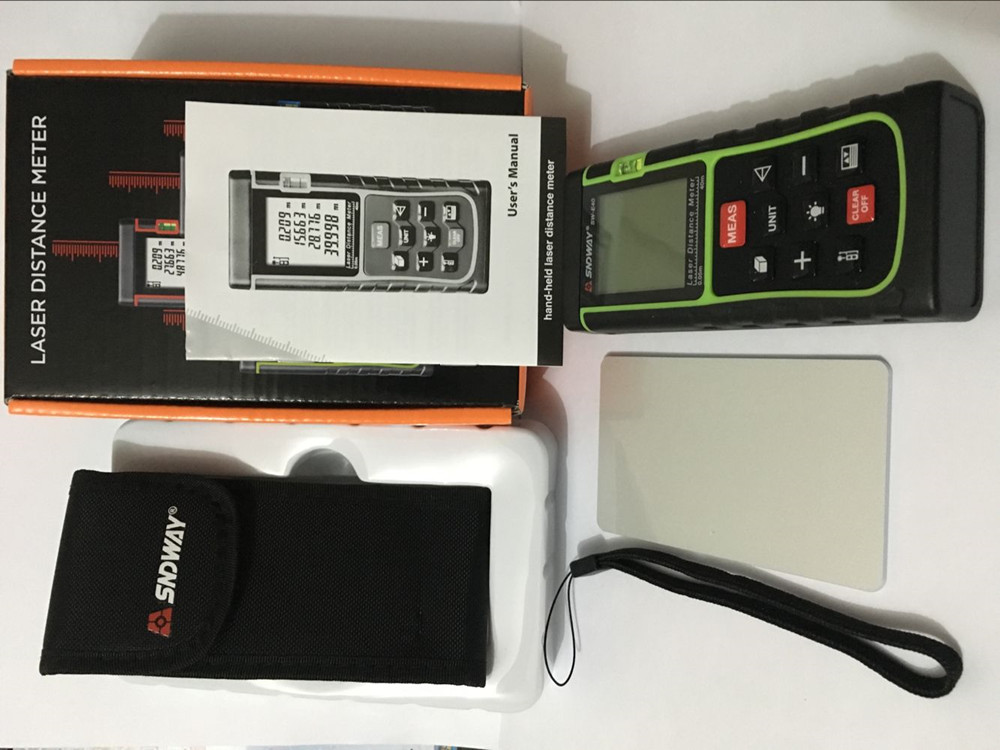 Laser Entfernungsmesser Oem : Sndway sw e40 rz40 laser entfernungsmesser 40 mt