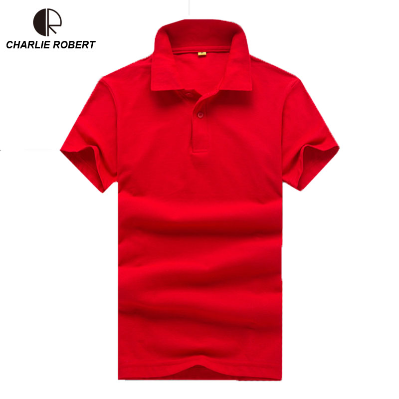 New Brand Clothing Polo Homme Solid Wholesale Polo Shirt