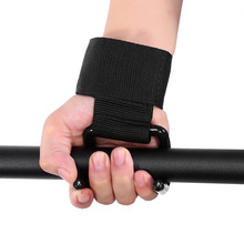 Anti-skid Gym Fitness Wristbands WeightLifting Hook Gloves Lifting