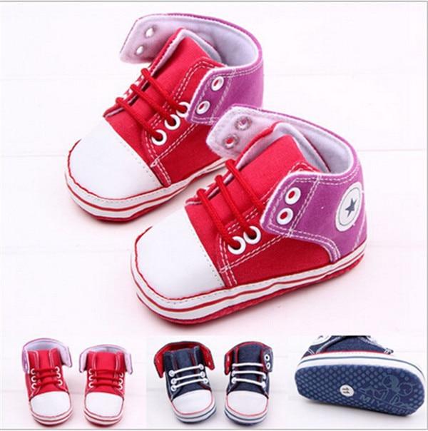 8ee03cc76 2015 قماش الطفل أحذية الأولى مشوا الطفل لينة أسفل أحذية أطفال أطفال  prewalker أحذية رياضية sapatos