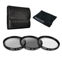 62mm UV CPL Circulaire Polarisatiefilters ND4 Grijsfilter Kit Voor Sigma Tamron Voor Nikon Canon
