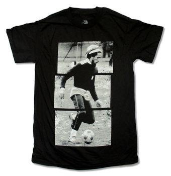 Bob Marley Soccerer Stripes obraz czarna koszulka trzy małe ptaki Exodus jammin #8222 męska koszulka męska bawełniane koszulki z krótkim rękawem tanie i dobre opinie demlfen SHORT CN (pochodzenie) Z okrągłym kołnierzykiem tops Z KRÓTKIM RĘKAWEM regular Sukno COTTON Na co dzień Drukuj