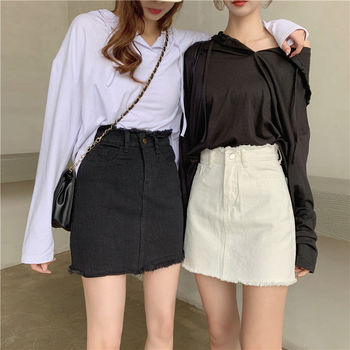 High Waist 100% Cotton Women's  Skirt