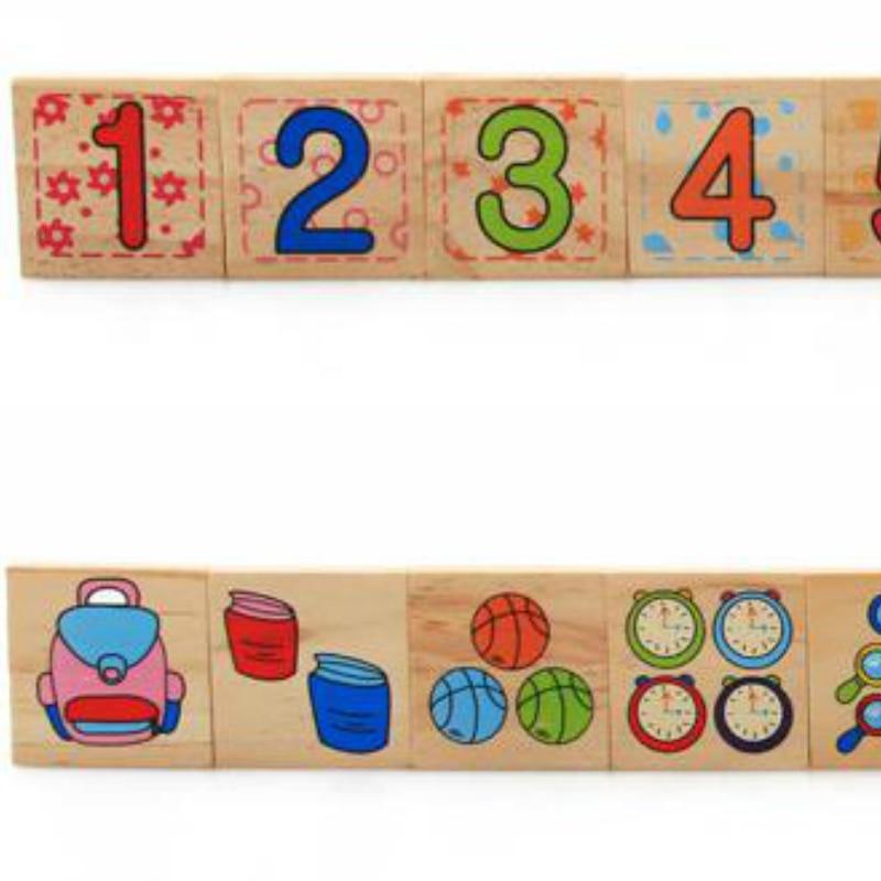 Djeca Drveni Montessori Materijali Učenje Brojeva Brojeva koji - Obrazovanje i osposobljavanje - Foto 6
