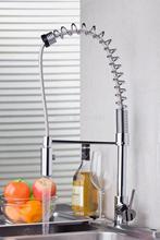 Torayvino бренд вытащить Хром Латунь Вода кухонный раковина судна бортике одной ручкой MF-1178 смеситель кран