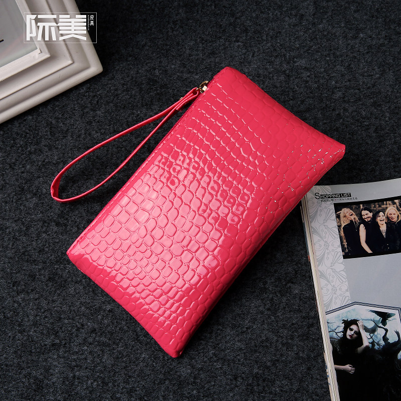 PU leather alligator women coin purse mini clutches wallets female money pouch bolso mujer carteira bolsa feminina for girls