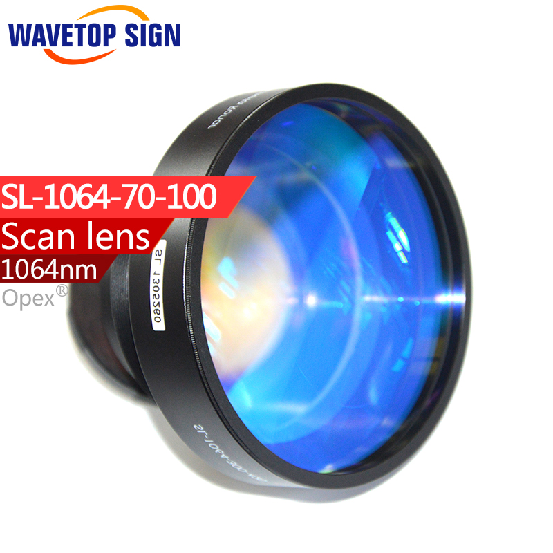 Ronar-Smith 1064nm laser scan lens 70*70mm SL-1064-70-100 F 100 fiber laser yag laser mark machine using laser welding cutting engraving machine laser protection lens 1064nm yag 39 1 5