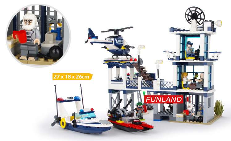 Toys & Hobbies Blocks Intellective New Technic Compatible Legoinglys Swat Team City Police Transport Helicopter Large Building Blocks Sets Gift Toys For Children