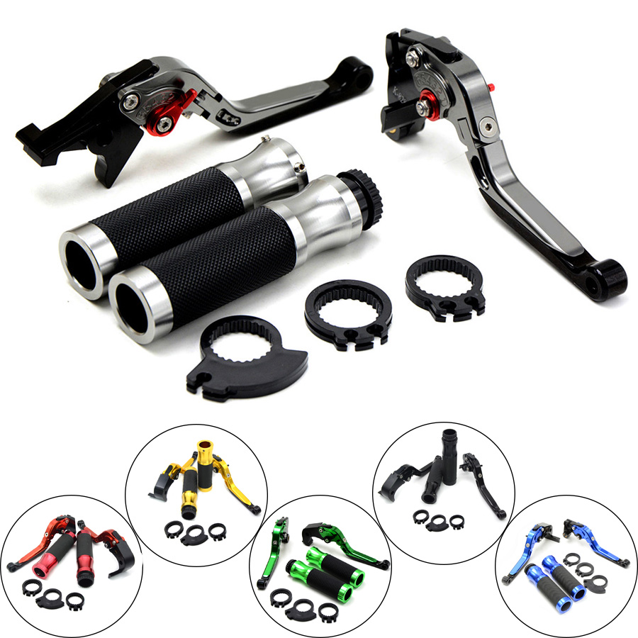 Motorcycle Brake Clutch Levers & handlebar handle bar For Suzuki GSXR1000 2005 2006 GSXR600 2006 2007 2008 - 2010 GSXR 600 1000 motorcycle brake clutch levers for suzuki gsxr1000 2007 2008 2pcs aluminum high quality motorbike brakes parts