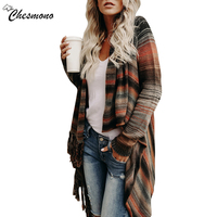 Spring And Autumn Fashion Pull Pullover Cardigan Womens Ponchoes Capes Sweater Sleeve Casual Cape Tassel Sweaters