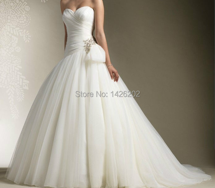 Aliexpress.com : Buy Sweetheart Neckline Women Wedding Dress Ebay ...