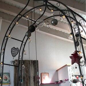 Image 4 - 38 led グローブフェアリーストリングライトクリスマス花輪 10 メートル 38 フェストゥーン led のボールストリングの妖精ライトウェディングパーティーの装飾ライト