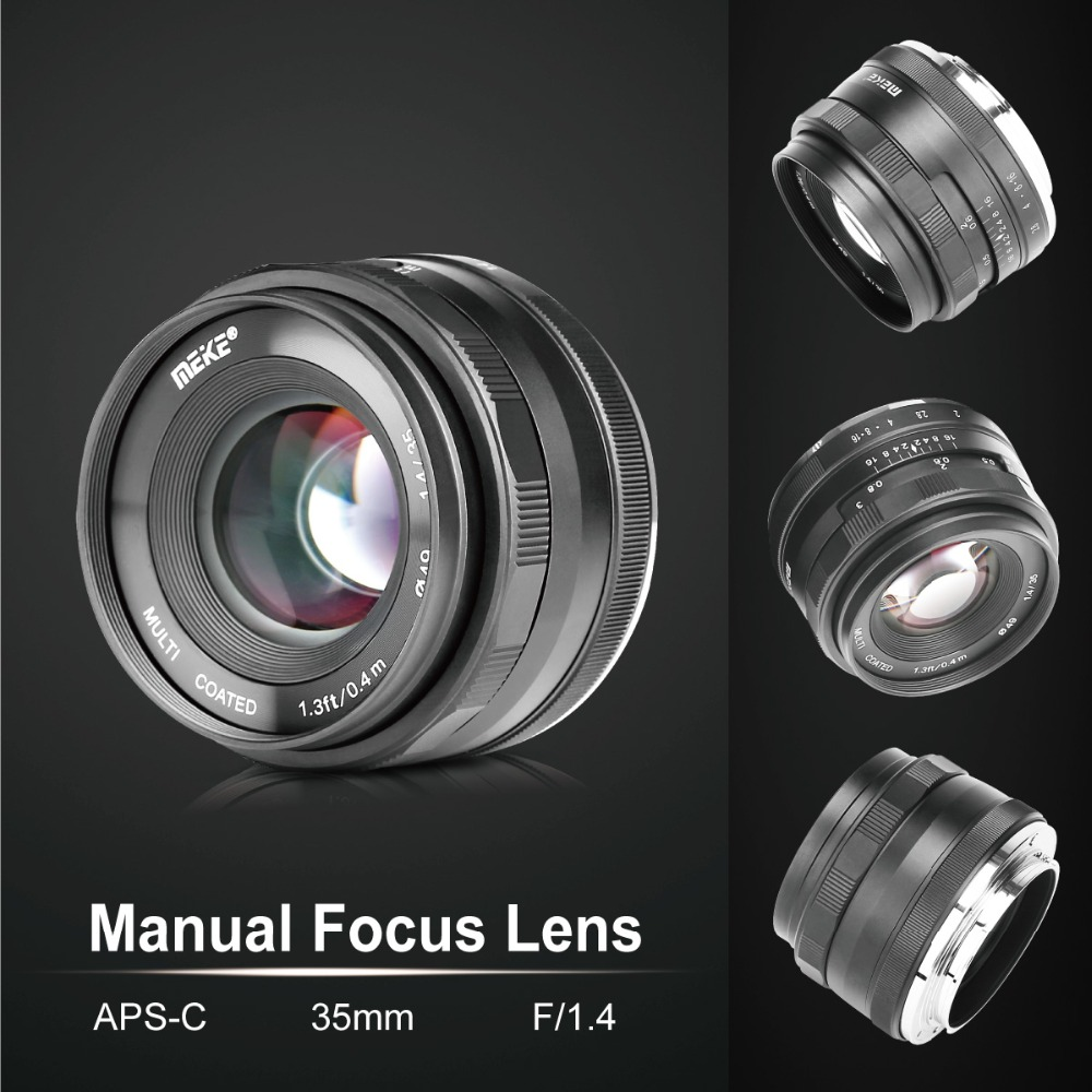 Image 3 - Meike MK 35 1.4 35mm f1.4 Large Aperture Manual Focus lens APS C for Fujifilm XT100/XT3/XE2/XE2s/XE3/XE1/X30/X70/XT2/XA1/XPro1-in Camera Lens from Consumer Electronics