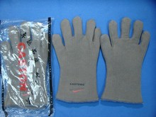 free delivery 2pairs Heat insulation defending gloves excessive temperature resistant working glove meals oven anti sizzling security glove
