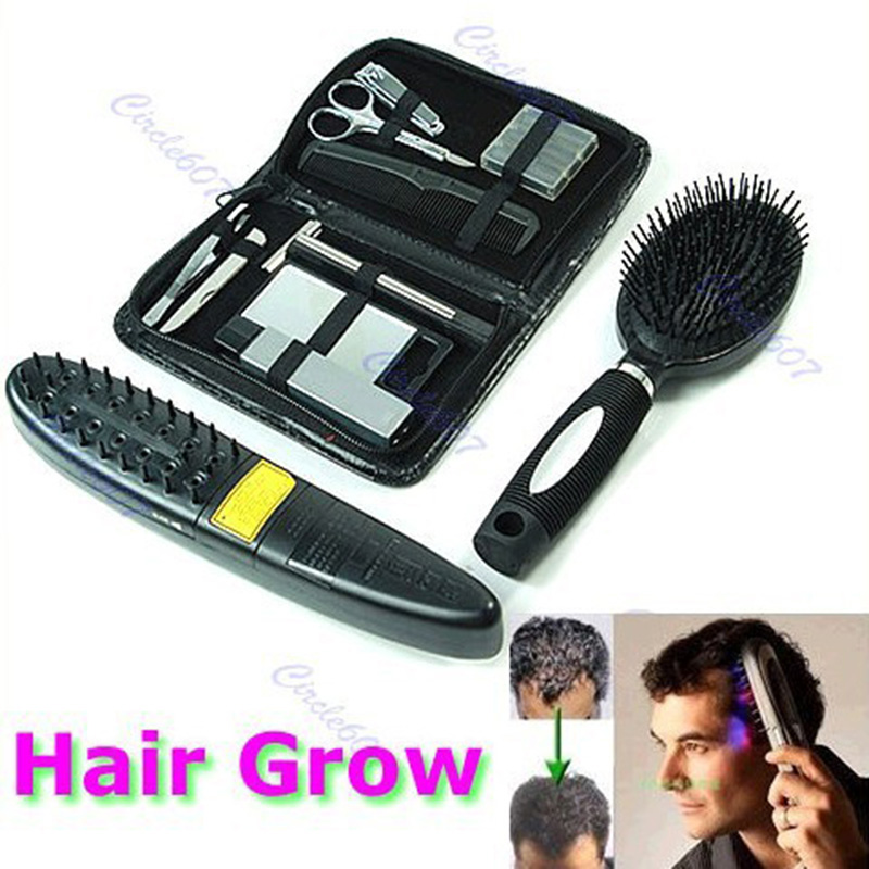 New 2017 Laser Treatment Power Grow Comb Kit Stop Hair Loss Hot Regrow Therapy Hot Sale