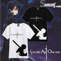 Бесплатная доставка меч искусство интернет kirito аниме косплей костюм футболка