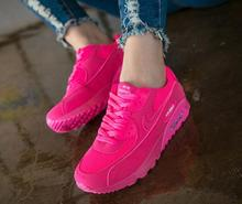 2016 Newest Fashion Spring Autumn Women Shoes Lace-up Increased Breathable Single Shoes Women Casual Shoes
