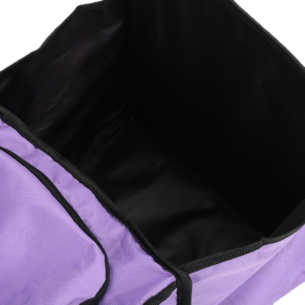 Фиолетовая прочная коробка для сохранения тепла портативная коробка для хранения Универсальная автомобильная складная сумка для хранения багажника