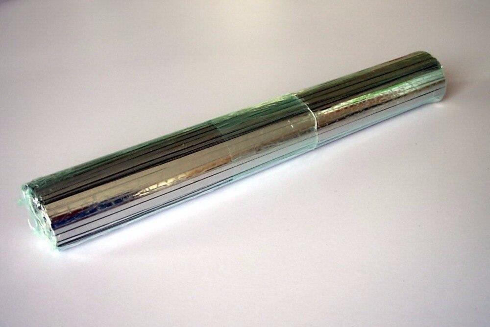 RoHS 200mm putcut sin plomo solar TAB Alambres S, precortadas tabulación Alambres, cualquier tamaño está bien, adecuado para 125 panel solar, - 3