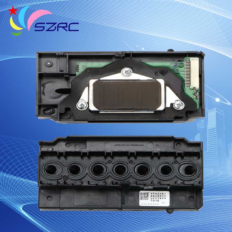 Original New Print Head F138040 & F138050 Printhead For EPSON 7600 9600 2100 2200 R2100 R2200 Green board Printer head