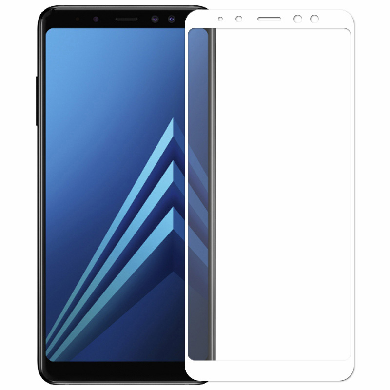Image 5 - GerTong Screen Protector For Samsung Galaxy A8 2018 A530F Full Cover Tempered Glass For Samsung A8 Plus 2018 A730F Safety Glass-in Phone Screen Protectors from Cellphones & Telecommunications