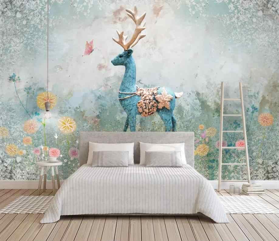 Tapete nach tier foto tapete für wohnzimmer schlafzimmer tapete wandbild 3d  Abstrakte hintergrund wand
