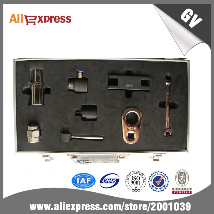 Testeur de pompe à rampe commune, jeu d'outils n ° 1096, combinaison pour pompe CAT320D