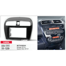 CARAV 11-129 Top Kwaliteit Radio Fascia voor MITSUBISHI Mirage 2012 +, space Star 2013 + Stereo Fascia Dash CD Trim Installatie Kit(China)