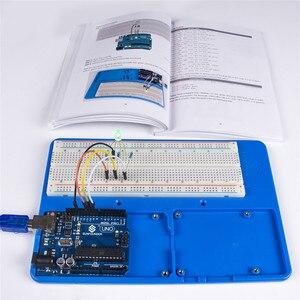 Image 3 - SunFounder Elektronik DIY Süper Başlangıç Kiti V3.0 Öğretici Kitap Arduino UNO için R3 Mega 2560 (kontrol panosu dahil değildir)