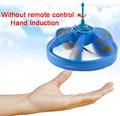 Sensor de infrarrojos flying saucer ufo mano inducida cernido vuelo flotante mano movimiento juguete ufo rc toys control remoto truco de magia