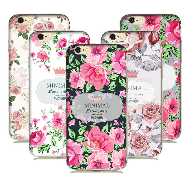coque iphone 7 plus floral