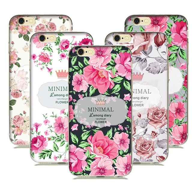 coque silicone iphone 7 fleur