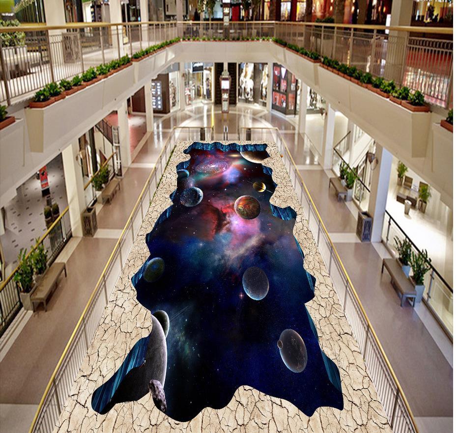 3d floor painting wallpaper Star Sky 3D floor wallpaper for bathroom waterproof 3d flooring pvc floor wallpaper 3d floor painting wallpaper 3d floor painting sky stars swirl pvc wallpaper 3d floor wallpaper 3d for bathrooms