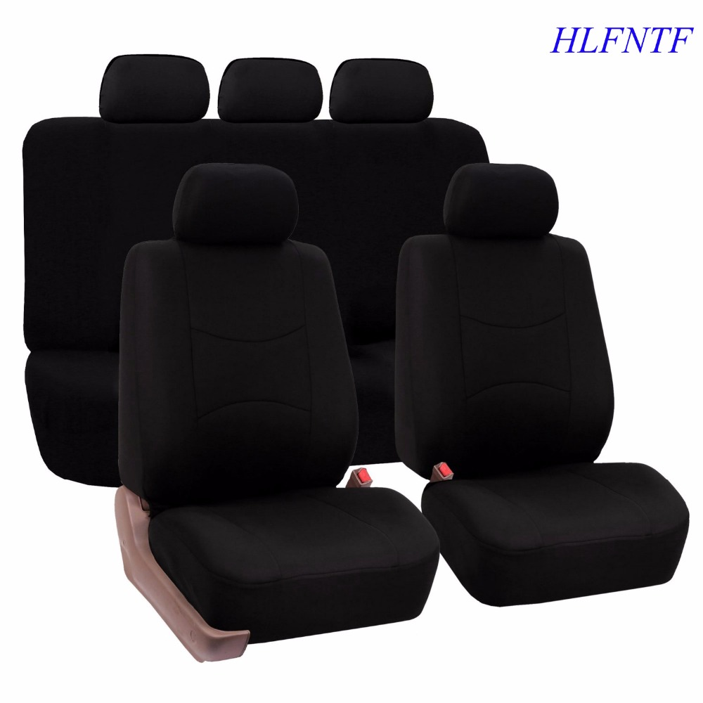Embroidery logo Car Seat Cover Front&Rear complete 5Seat For Suzuki Jimny Grand Vitara Kizashi Swift sx4 car styling Four Season