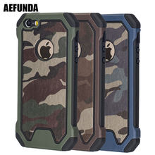 กองทัพทหาร Camouflage สำหรับ iPhone X XS Max XR 7 8 Plus 6 6 S 5 S 5 S SE Coque Dual Layer TPU (China)
