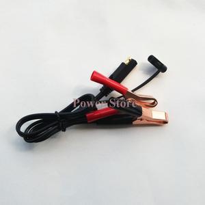 Image 3 - 12v carregador de bateria inteligente pulso de carregamento reparação carro da motocicleta com sae conector cabos