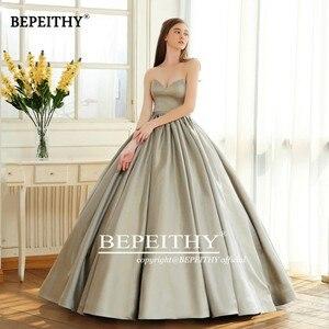 Image 5 - BEPEITHY Vintage Dellinnamorato del Vestito Da Sera Del Partito Elegante 2020 Sparkle Glitter Tessuto Abito di Sfera Abiti Da Ballo Robe De Soiree