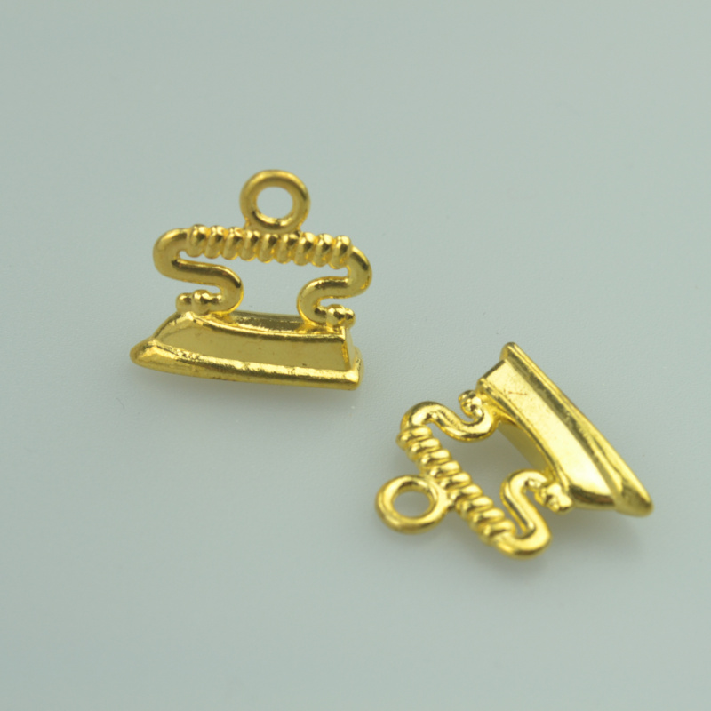 45 pcs metal charms gold color Iron pendants jewelry findings and components fit Necklaces and bracelets making A4022