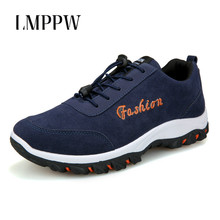 цены High Quality Men Sneakers Men Casual Shoes Fashion Breathable Men Flats Rubber Shoes Outdoor Walking Travel Shoes Suede Leather