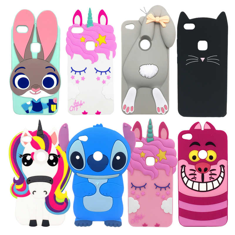 fc946b0ef4f Detail Feedback Questions about For Huawei P8 Lite 2017 Phone Cases Honor 8 Lite  Cover Silicone Soft Unicorn Rabbit Stitch 3D Back Fundas P8 Lite (2017) ...