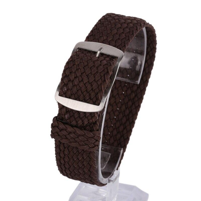 22mm watch band Nylon Straps Watches Straps Weave  Watchband  Watch band  Wristband Colorful Color 16 18 20 22MM