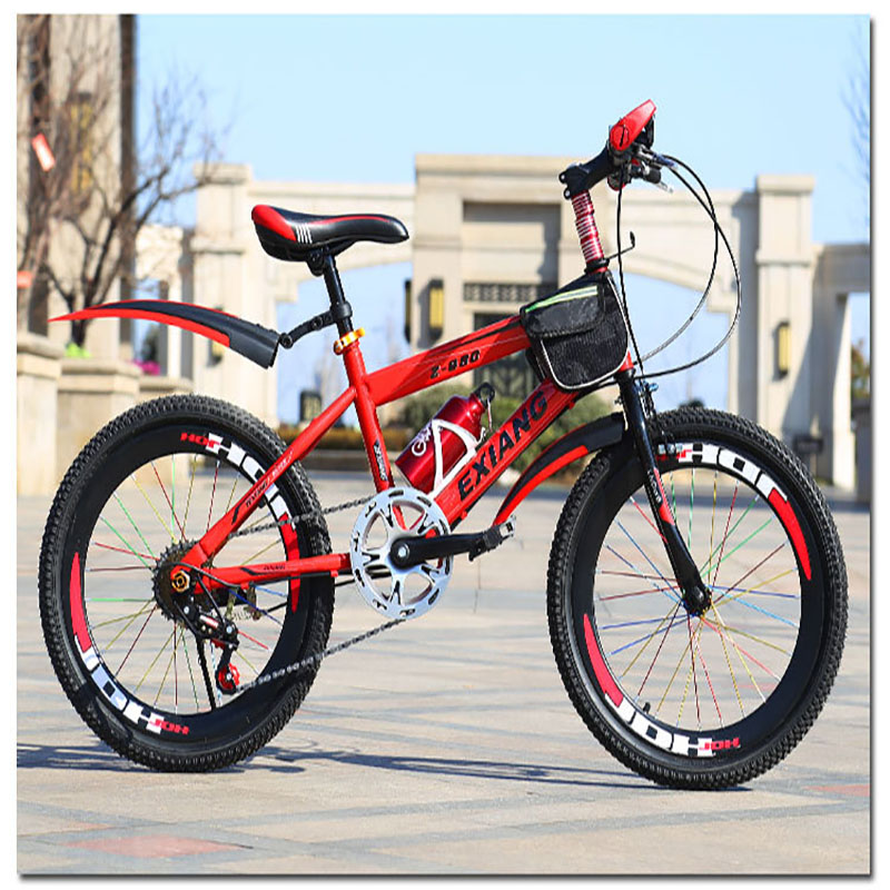 Aluminum Alloy  Mountain Bike 6 Speed 20 Inches Carbon Steel Car