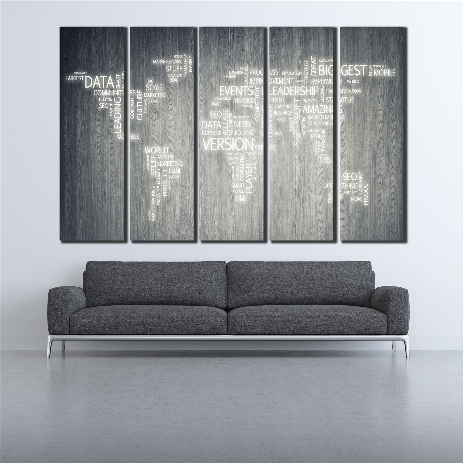 5 panel wall art canvas painting world map make up of letters 5 panel wall art canvas painting world map make up of letters posters pictures modular art picture for pub bar pictures wl 049 in painting calligraphy gumiabroncs Images