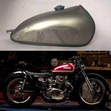 Motomaven сырья металла Фирменная Новинка Универсальный dt360 Cafe Racer Tank изменение мото-цикл утолщенной Винтаж Топливные баки для мотоциклов Бесплатная доставка