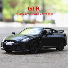 1:36 Nissan GTR car Toy Car Chevrolet Camaro Metal Toy Diecasts & Toy Vehicles Car Model Car Toys For Children(China)