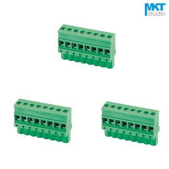 100Pcs 13P 5.08mm Pitch B-Type Straight Female PCB Electrical Screw Wire Terminal Block Connector