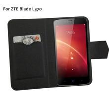 5 цветов хит! Zte Blade L370 чехол для телефона кожаный чехол, Заводская Мода Роскошный Полный флип-Стенд кожаный чехол для телефона s